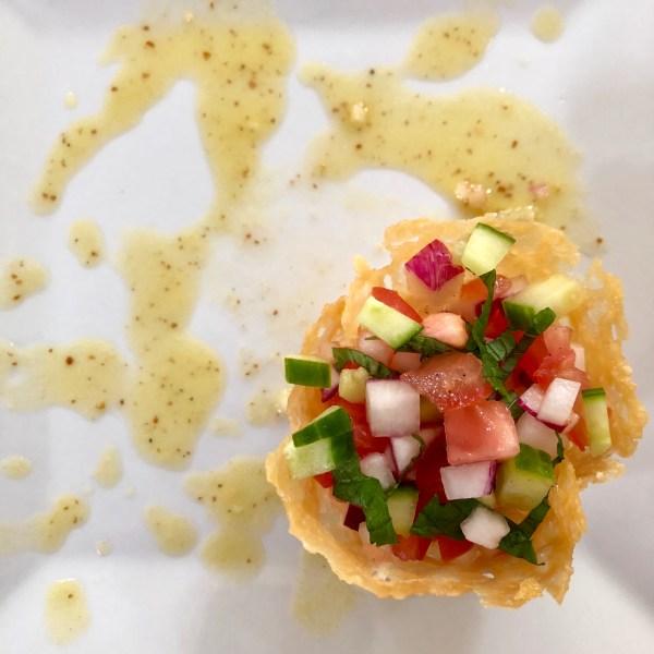 Radish Salad in Frico