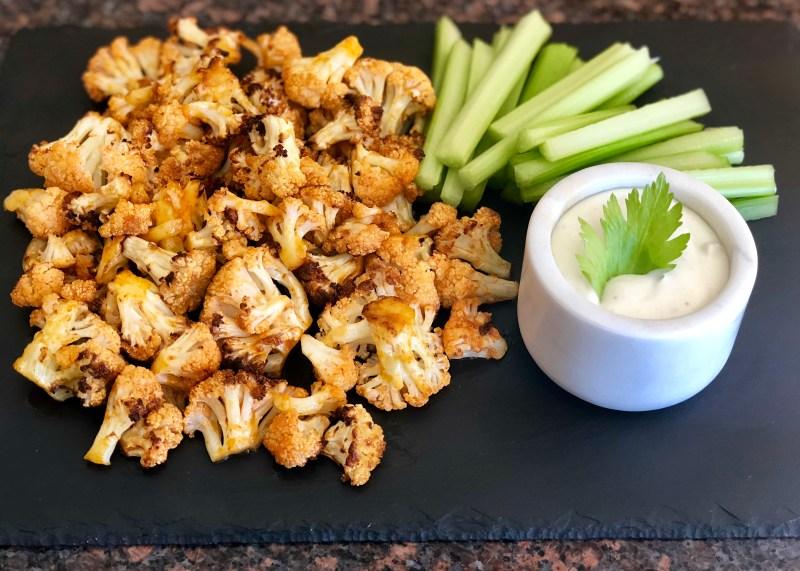 Spicy Cauliflower Bites