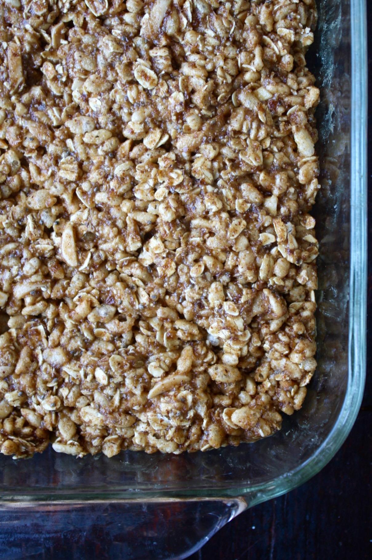 Almond Butter Granola Bars | Zestful Kitchen