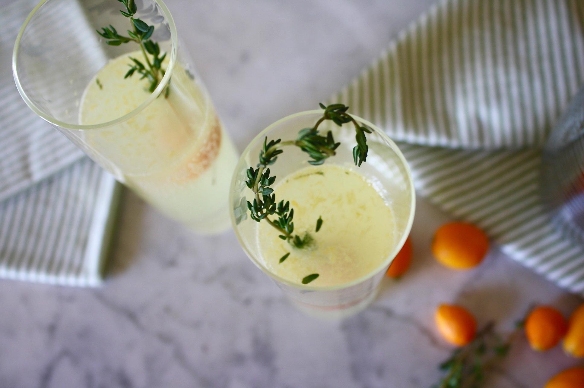 Kumquat & Thyme Cocktail | Zestful Kitchen