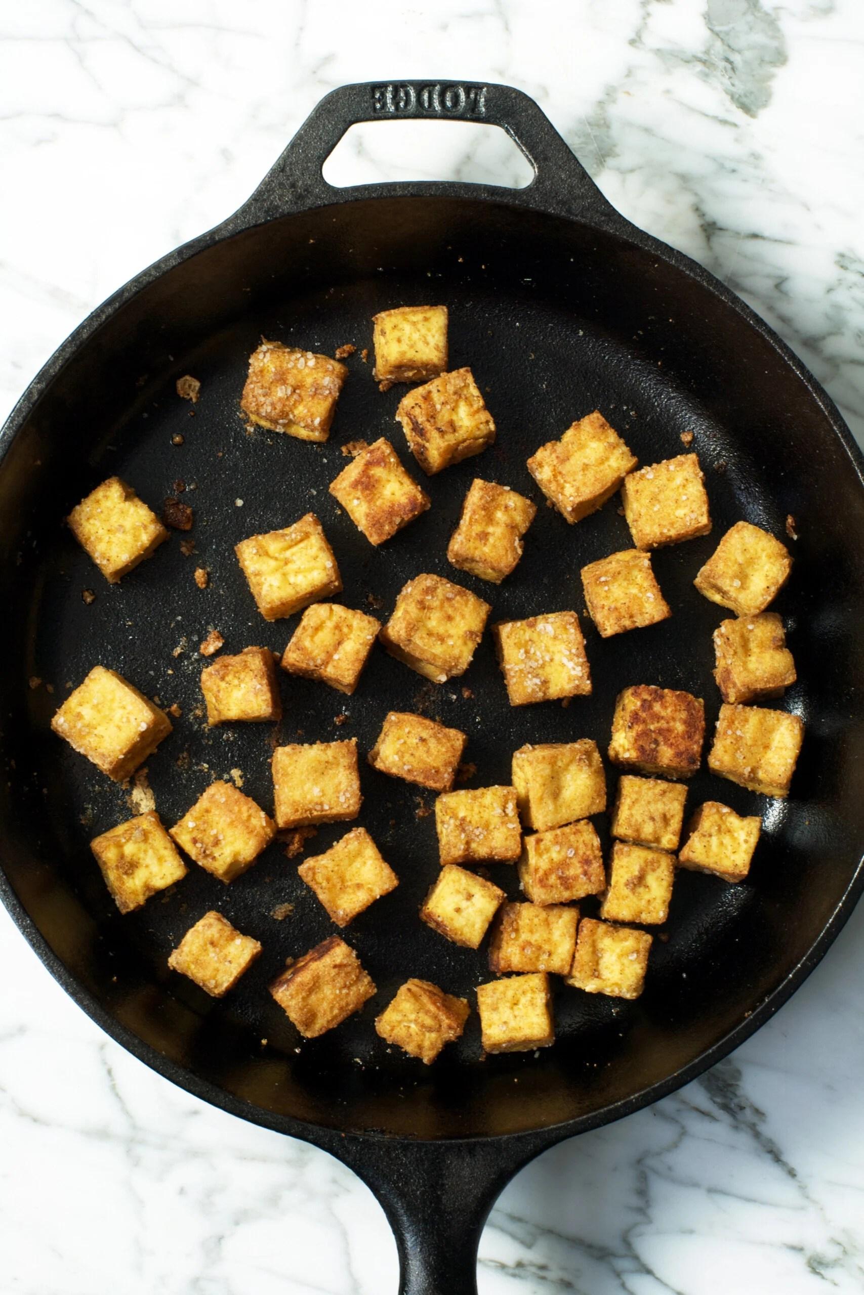 Crispy Tofu Tacos | Zestful Kitchen