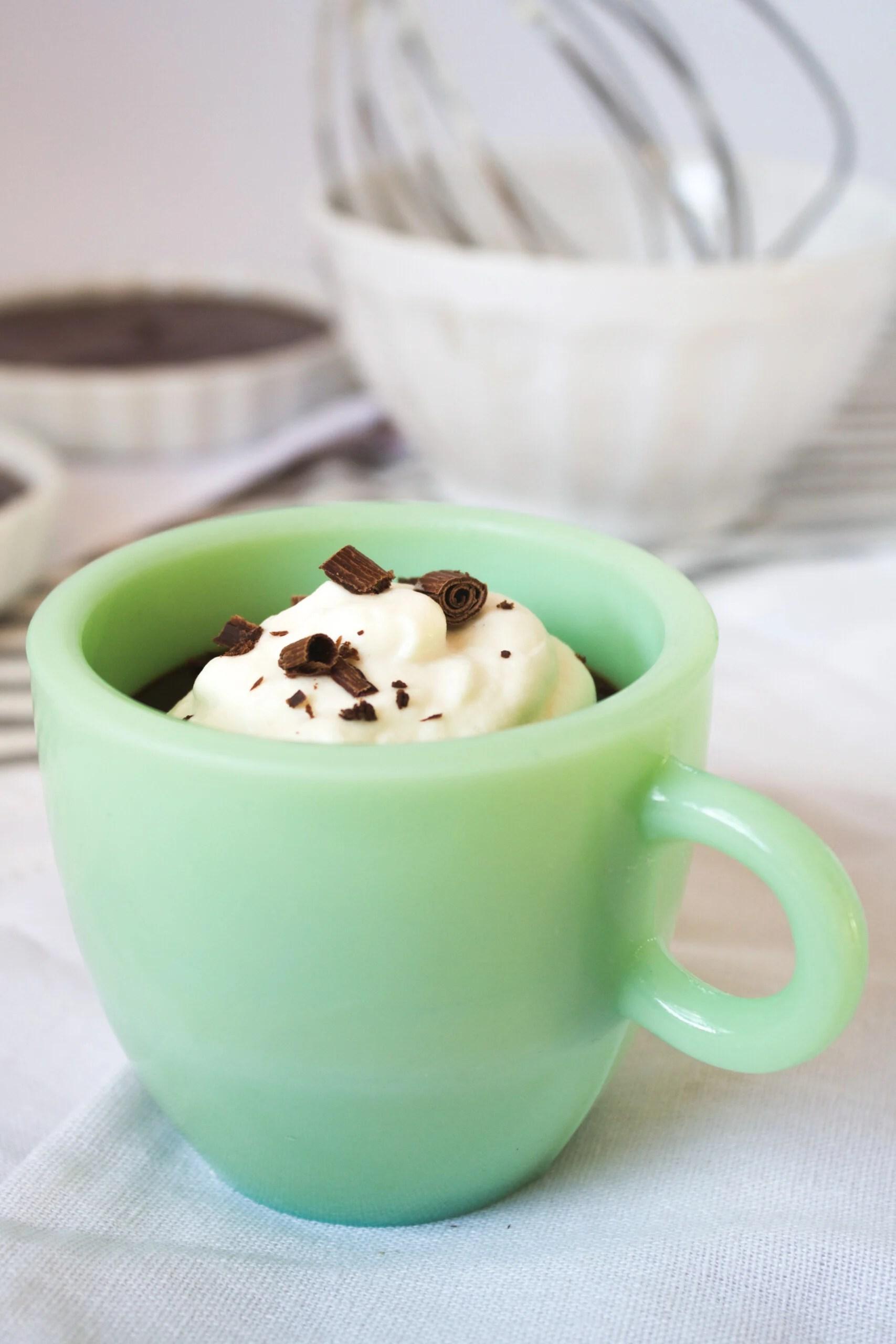 Chocolate Pots de Crème | Zestful Kitchen
