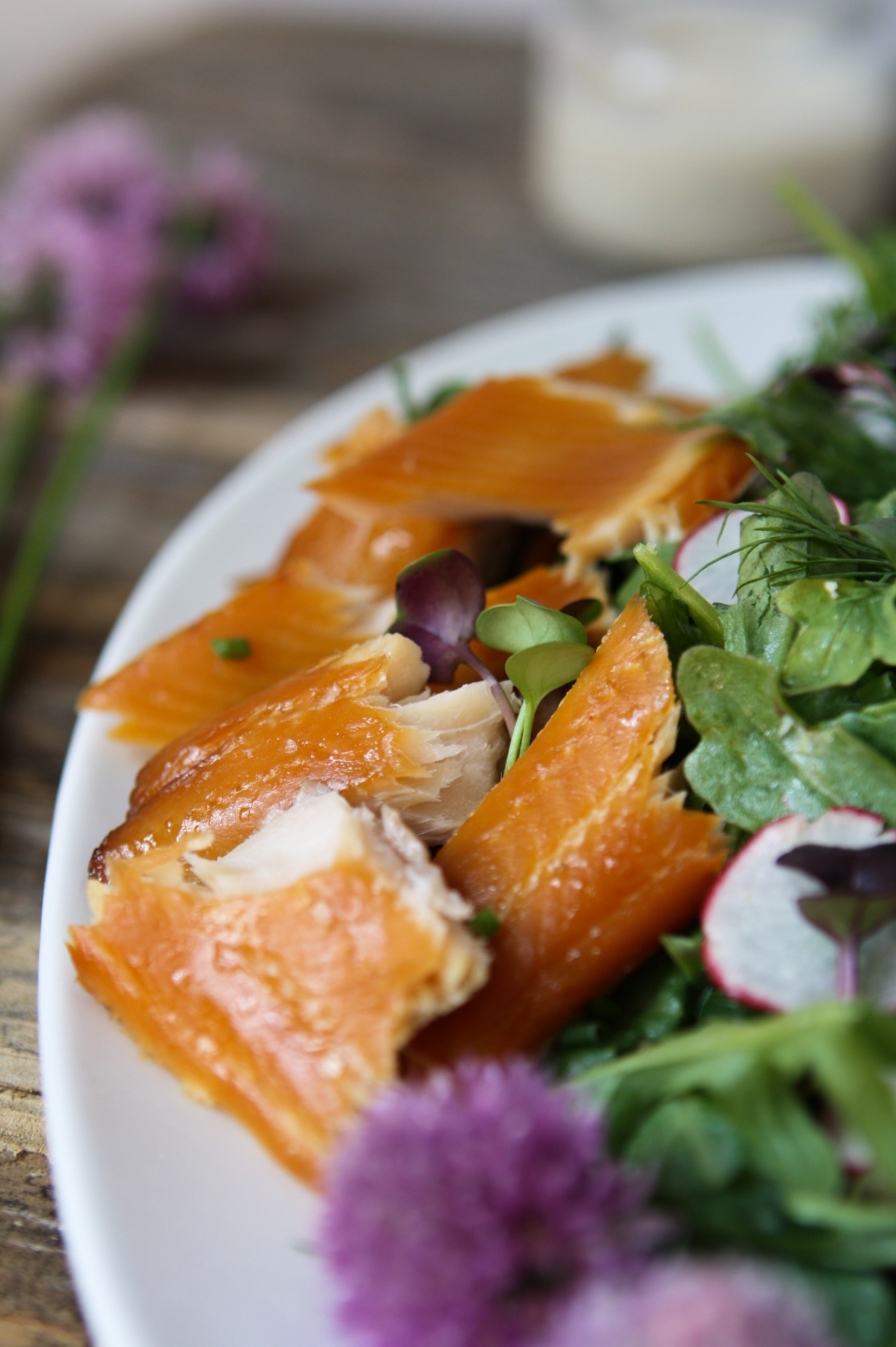 Smoked Trout Salad | Zestful Kitchen