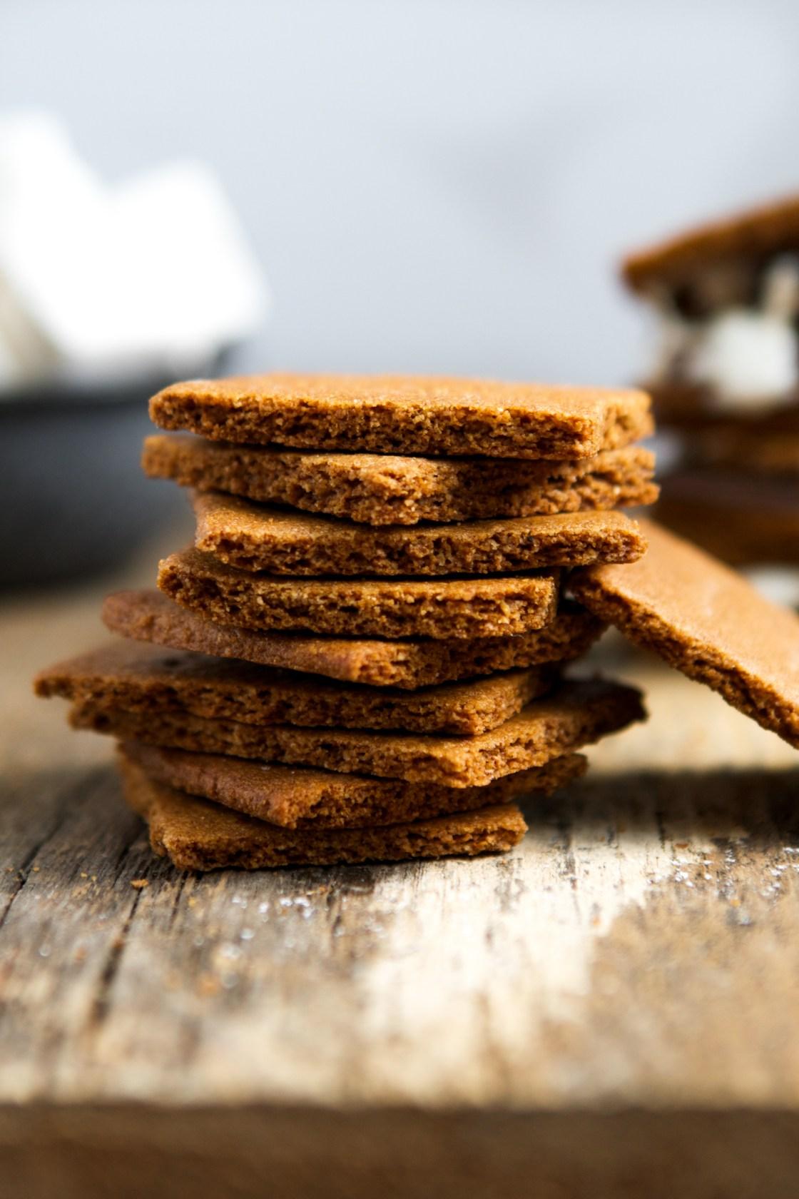 Homemade Whole-Grain Graham Crackers | Zestful Kitchen