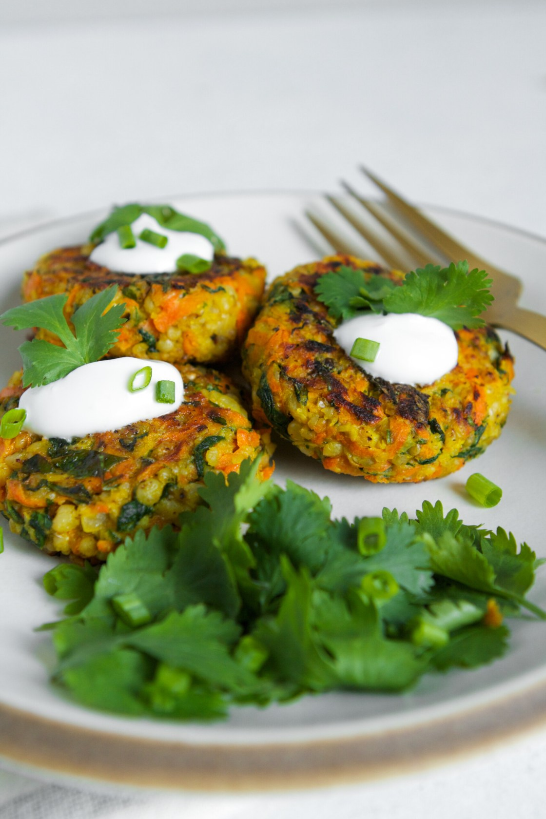 With a simple, yet impressive, ingredient list, these whole-grain sorghum cakes couldn't be any easier to make. And when you throw carrots, arugula, curry, and a hearty amount of garlic into the mix, they also don't lack any oomph. These Curried Sorghum Cakes are definitely weeknight-dinner fare.   Zestful Kitchen