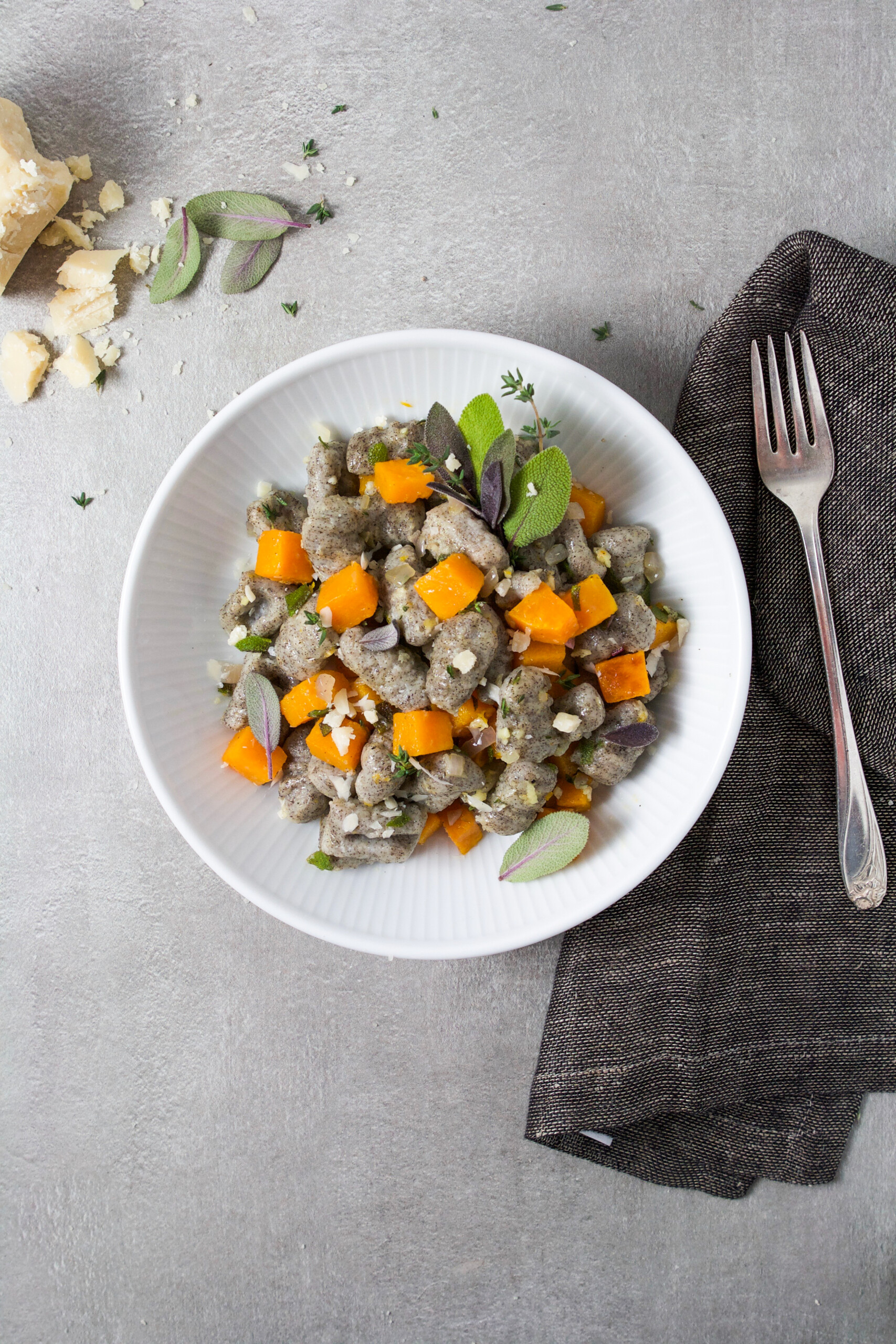 This buckwheat gnocchi is soft and pillowy like the classic potato-only variety but with a delightful nutty upgrade. | from Zestful Kitchen