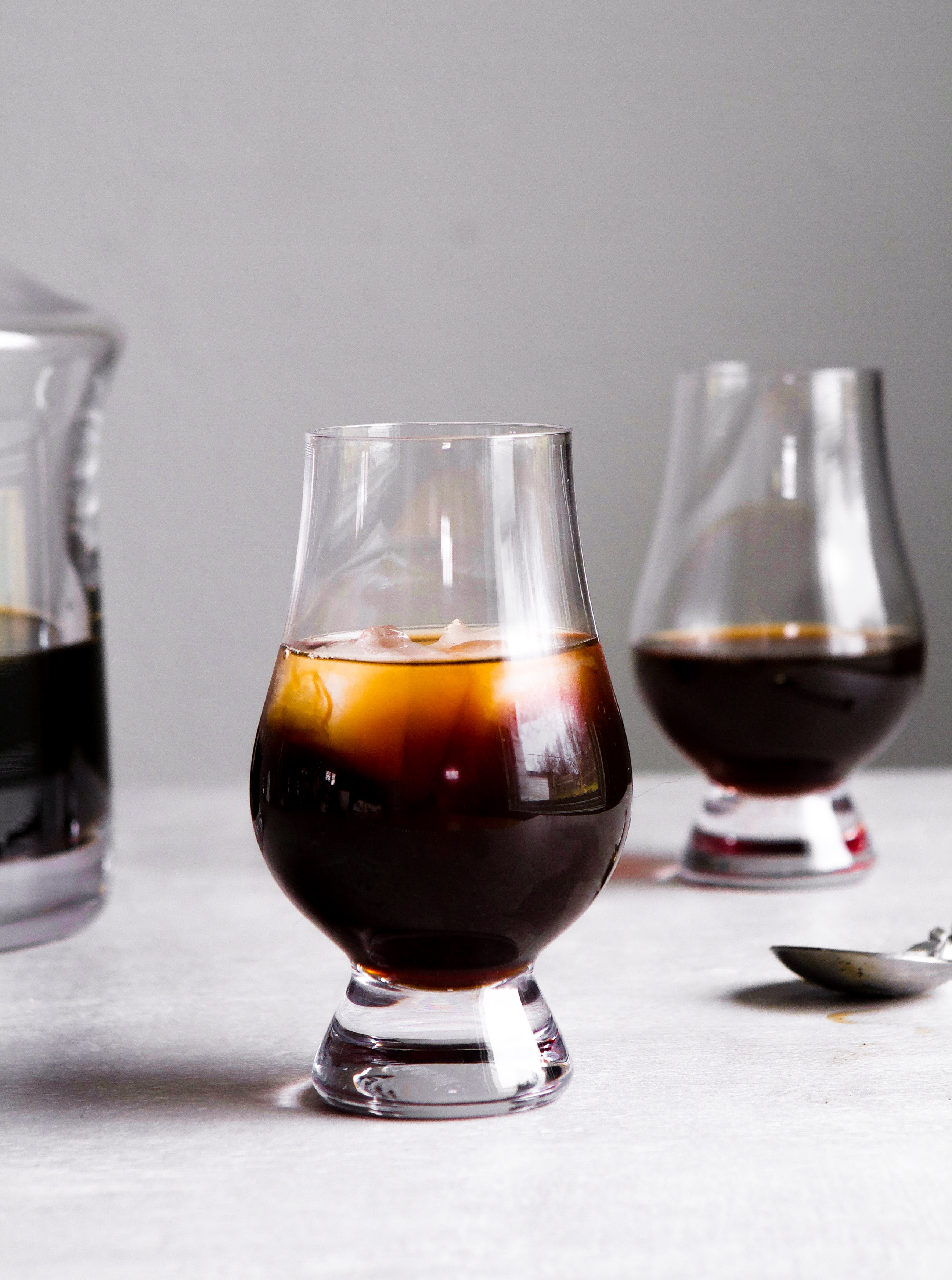 Incredibly simple to make, this Fig Infused Bourbon packs some major flavor. Delicious as is, this bourbon also makes a great addition to many winter drinks and pairs well with anything vanilla. | Zestful Kitchen