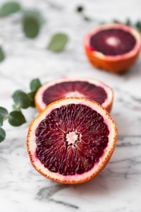 Gorgeously hued, incredibly easy to make, and flavored with blood orange juice and ginger liqueur, this Blood Orange and Ginger Boston Sour is one celebratory drink worth shaking up. | from Lauren Grant of Zestful Kitchen