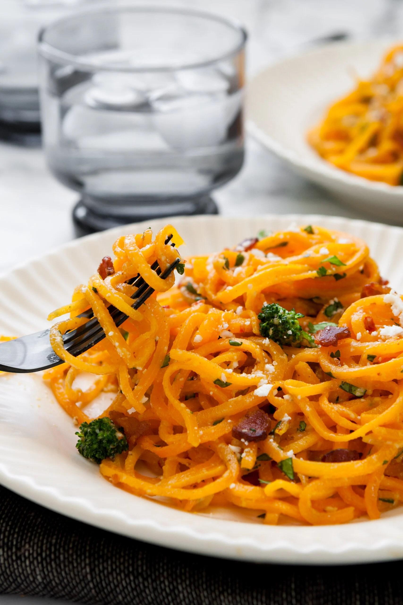 Butternut Squash Carbonara | from Lauren Grant of Zestful Kitchen