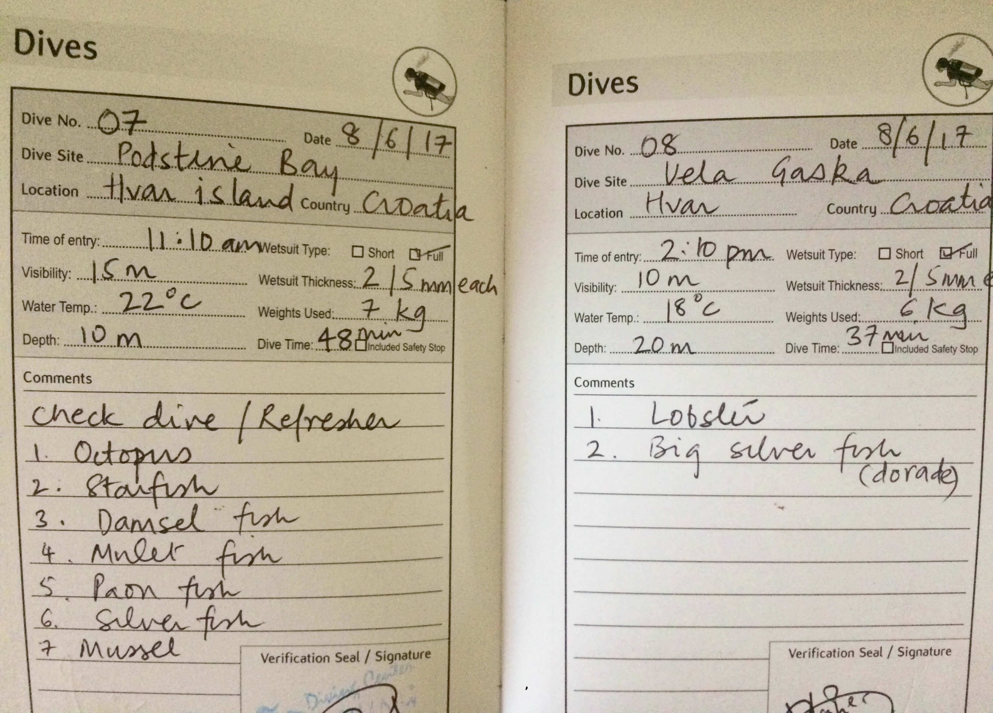 kayaking cycling diving croatia
