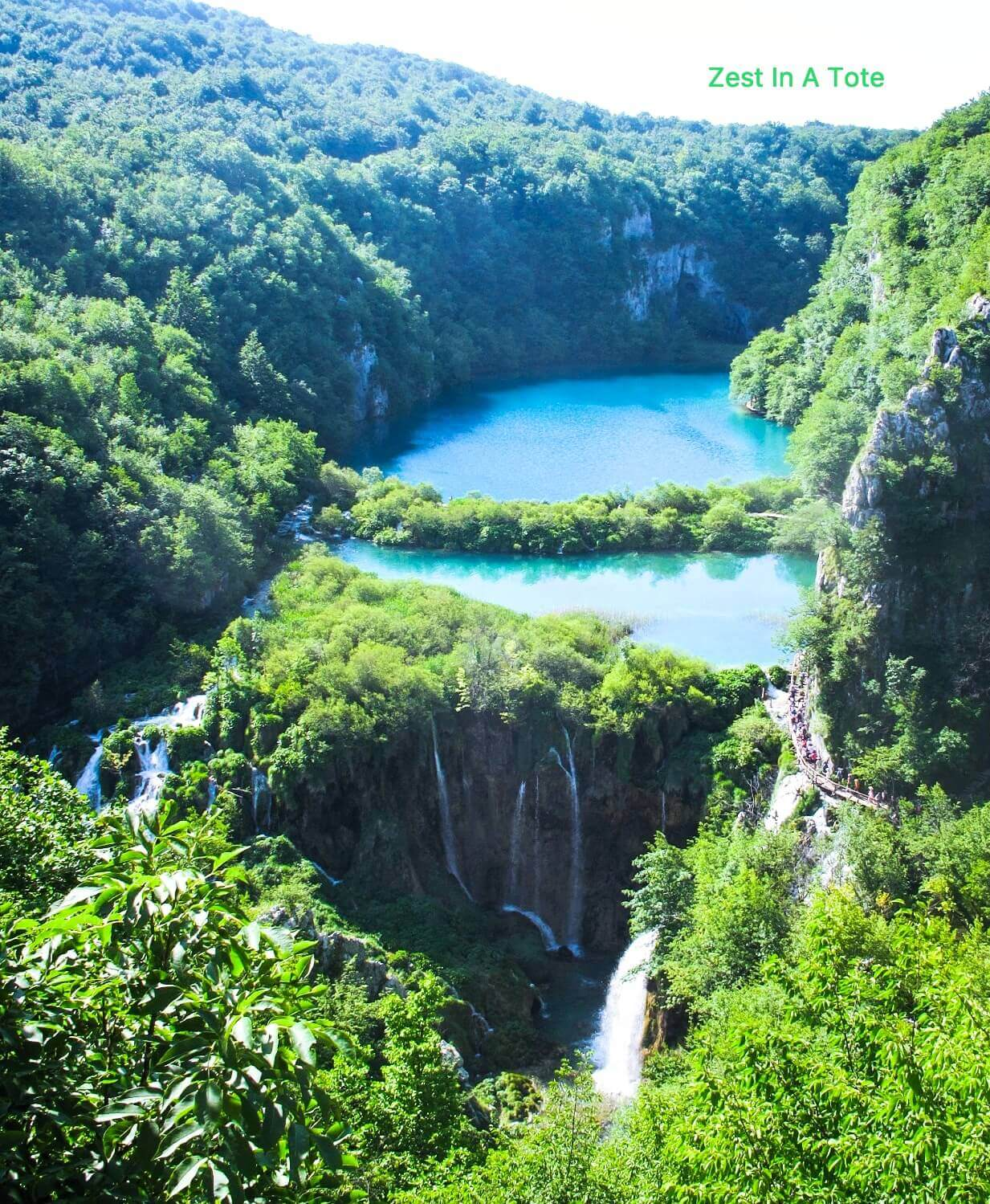 Tips to reach viewpoint for Plitvice Lakes