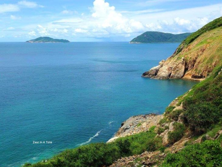 Panoramic views, Con Dao islands