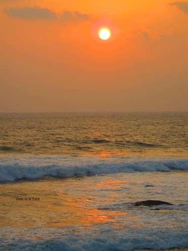Sri Lanka gives you beautiful sunsets