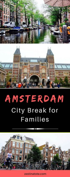Art, history, parks, activities for kids, fine dining, cafe culture, creative vibe….so many reasons to love Amsterdam, so many things to do in this city for families. See this 2 day itinerary for Amsterdam with kids. #amsterdam #amsterdamin2days #amsterdamforfamilies #familytravel #thingstodoinamsterdam