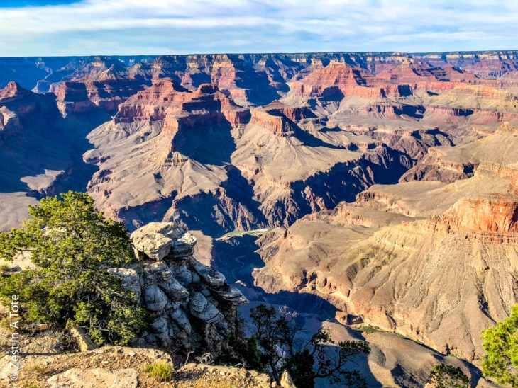 Best viewpoints south rim grand canyon, one day trip to grand canyon, grand canyon bike tours, where to stay in grand canyon