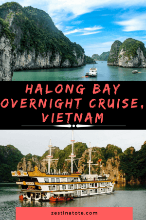 Halong Bay can be a magical experience. Read more on one of the best Halong Bay luxury cruise experiences that takes you further to the quieter Bai Tu Long Bay. #halongbaycruise #baitulongbaycruise #luxurycruise #vietnam #overnightcruise