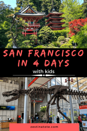 We spent 4 fun-filled days in San Francisco. Iconic views of the city and Golden Gate bridge, enjoying sunny days at Golden Gate Park, lively cafes and interesting museums, touristy spots - we packed a lot in our San Francisco itinerary. #sanfranciscowithkids #sanfranciscoitinerary #familytravel #bestplacestovisit