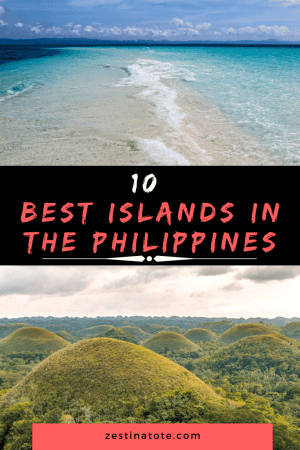 White sandy beaches and jewel-toned water. Amazing waterfalls, jungle and cultural experiences. Diving and surfing adventures, island hopping and what not. Here are the 10 best islands in Philippines. #philippines #philippinesislands #bestbeachesinphilippines #beautifulplacesinphilippines