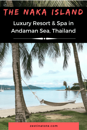 Thinking of an island getaway in Thailand? The Naka Island Resort, just off the Phuket coast, makes for a great luxury stay. #thailand #phuket #beachresort #luxurystay #oceanvilla