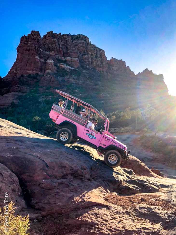Sedona in one day, Sedona day trip, Sedona pink jeep tours, pink jeep sedona, Sedona to grand canyon
