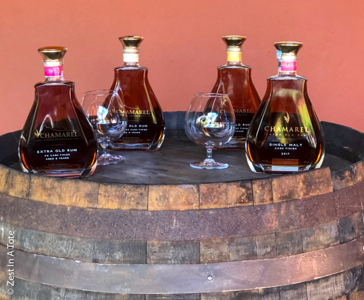 Rum-bottles-rhumerie-chamarel