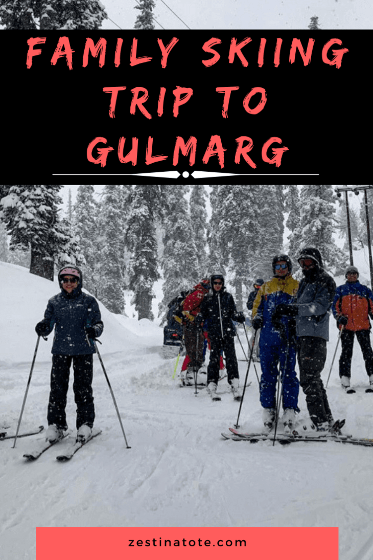 Gulmarg is a great place to learn how to ski. Good beginners' and intermediate slopes, availability of ski instructors and gear, good ski resorts and pristine views all made our family adventure memorable. #india #kashmir #gulmargtrip #skiingingulmarg #familyadventure