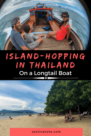 Island Hopping Longtail Boat Thailand