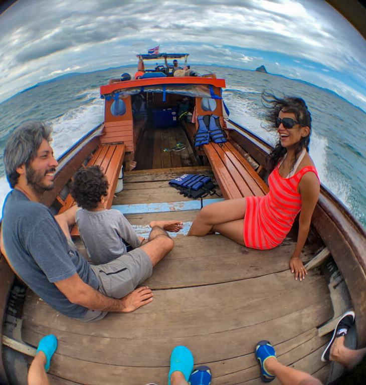 island hopping in thailand, longtail boat adventure thailand