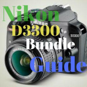 Nikon D3300 bundle deals