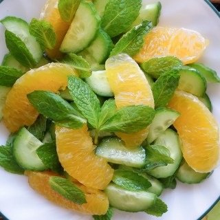 Orange Cucumber Salad (Nut-Free, AIP)