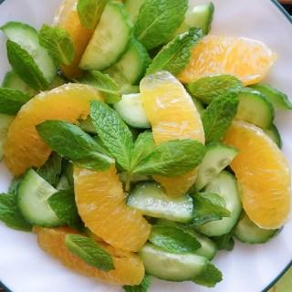 Orange Cucumber Salad (Nut-Free, AIP)