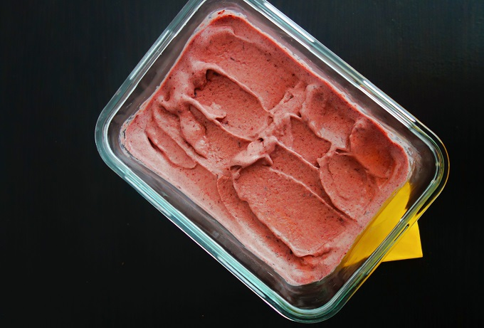 Spicy Cherry Ice Cream (Dairy-Free, Egg-Free, AIP) - Zesty Paleo