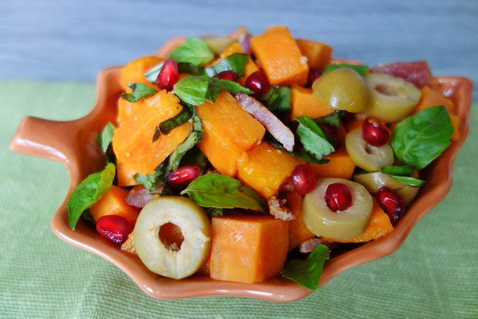 Sweet Potato Bacon Salad (Nut-Free, AIP) - Zesty Paleo
