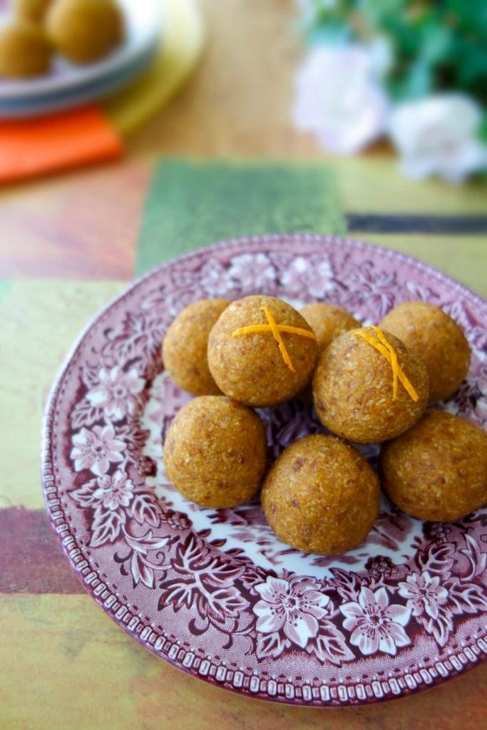 Zesty Orange Pumpkin Balls (Vegan, Paleo, AIP) - Zesty Paleo