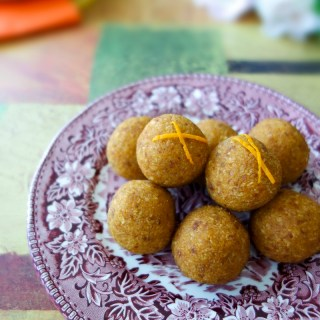 Orange-Pumpkin Energy Balls (Nut-Free, Vegan, AIP)