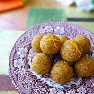 Orange Pumpkin Balls (Nut-Free, Vegan, AIP)