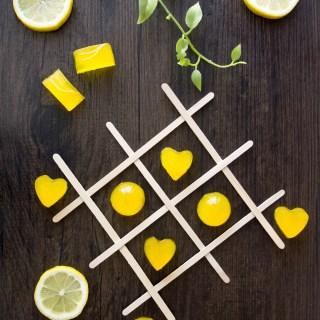 Lemon Turmeric Gummies (Dairy-Free, AIP)