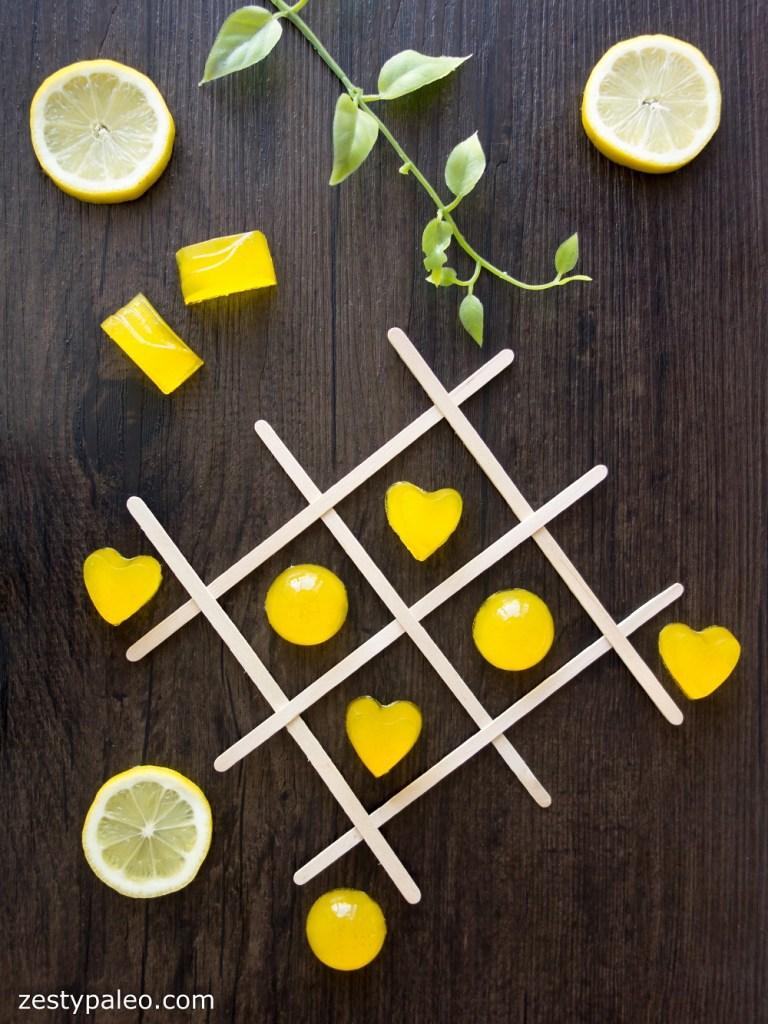 Lemon Turmeric Gummies (Dairy-Free, AIP) - Zesty Paleo