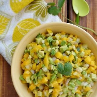 Avocado Mango Salsa (Nightshade-Free, AIP)
