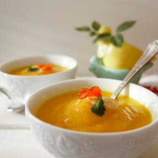Jerusalem Artichoke Soup with Carrot, Ginger and Lemon (Dairy-Free, Nightshade-Free, AIP)