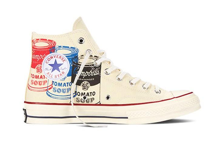 andy warhol & converse chuck taylor All stars
