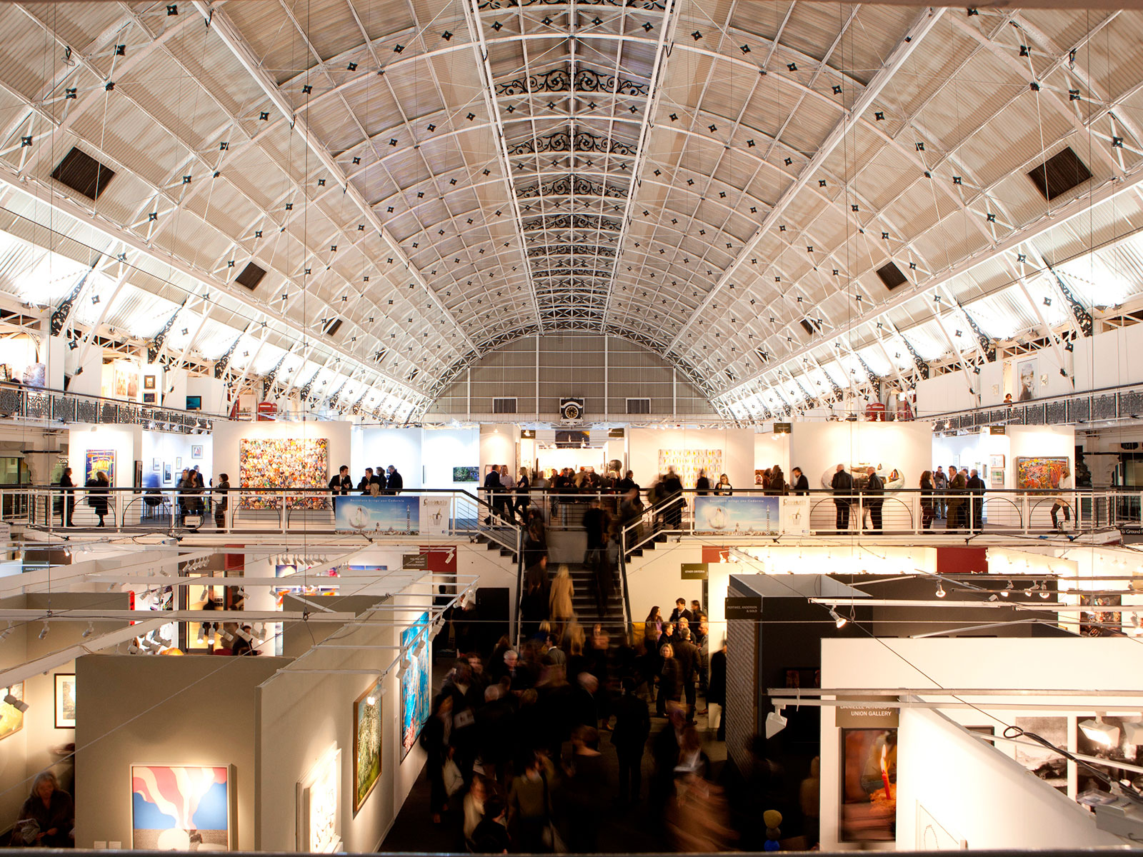 'London Art Fair 2016' at the Business Design Centre in Islington