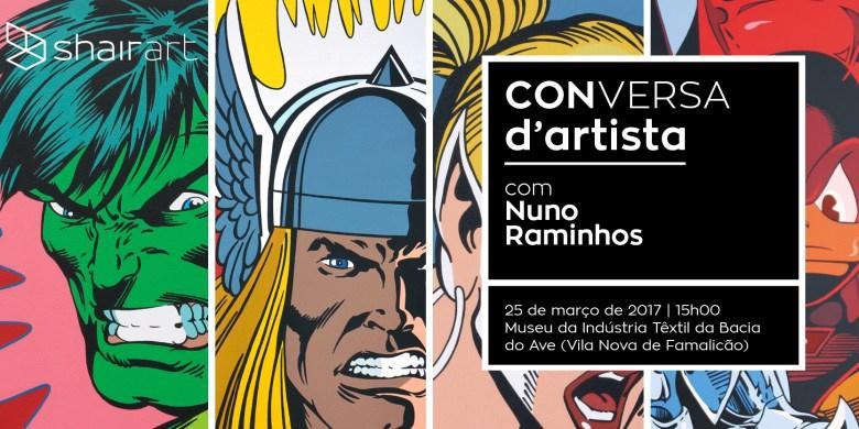 ODE AOS SUPER-HERÓIS por Nuno Raminhos