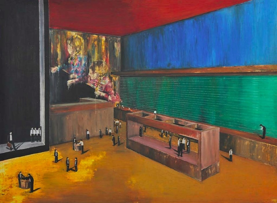 (In)visible Scrutiny – Painting, Cinema and Simulacrum