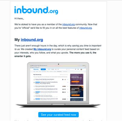 trigger based marketing email