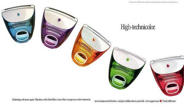 apple ad 90s print