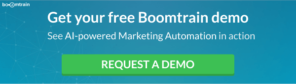 Boomtrain Request a Demo CTA