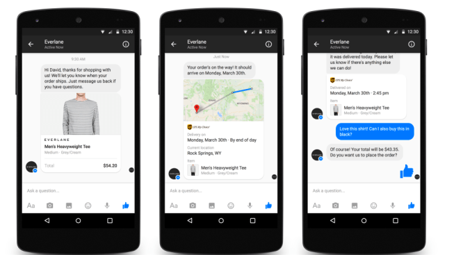 Marketing Automation hack - Facebook Messenger for Shopping