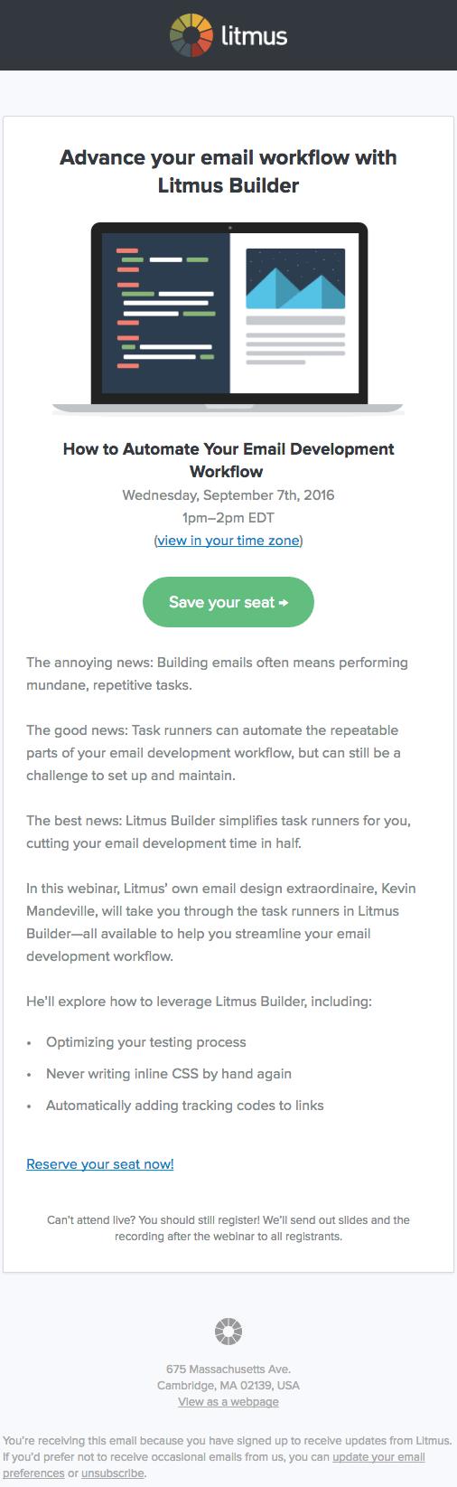 litmus email
