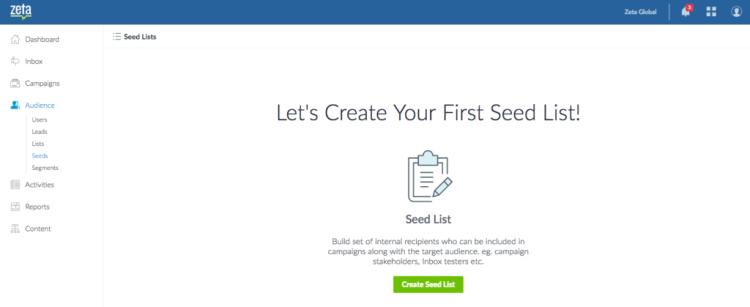 create seed list